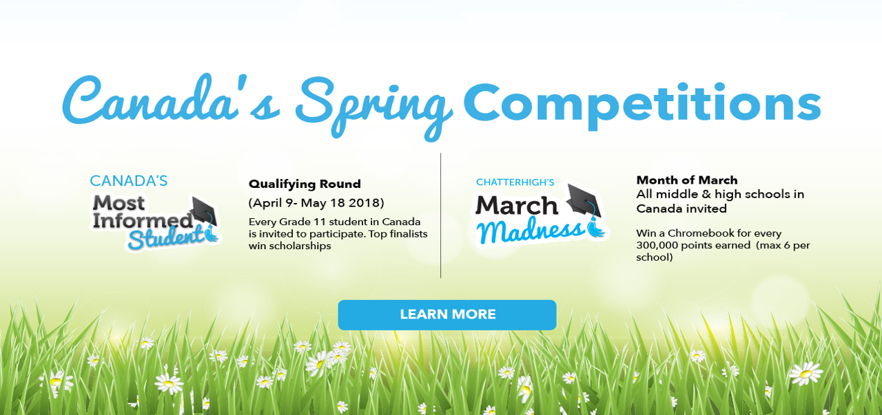 Spring comp banner canada