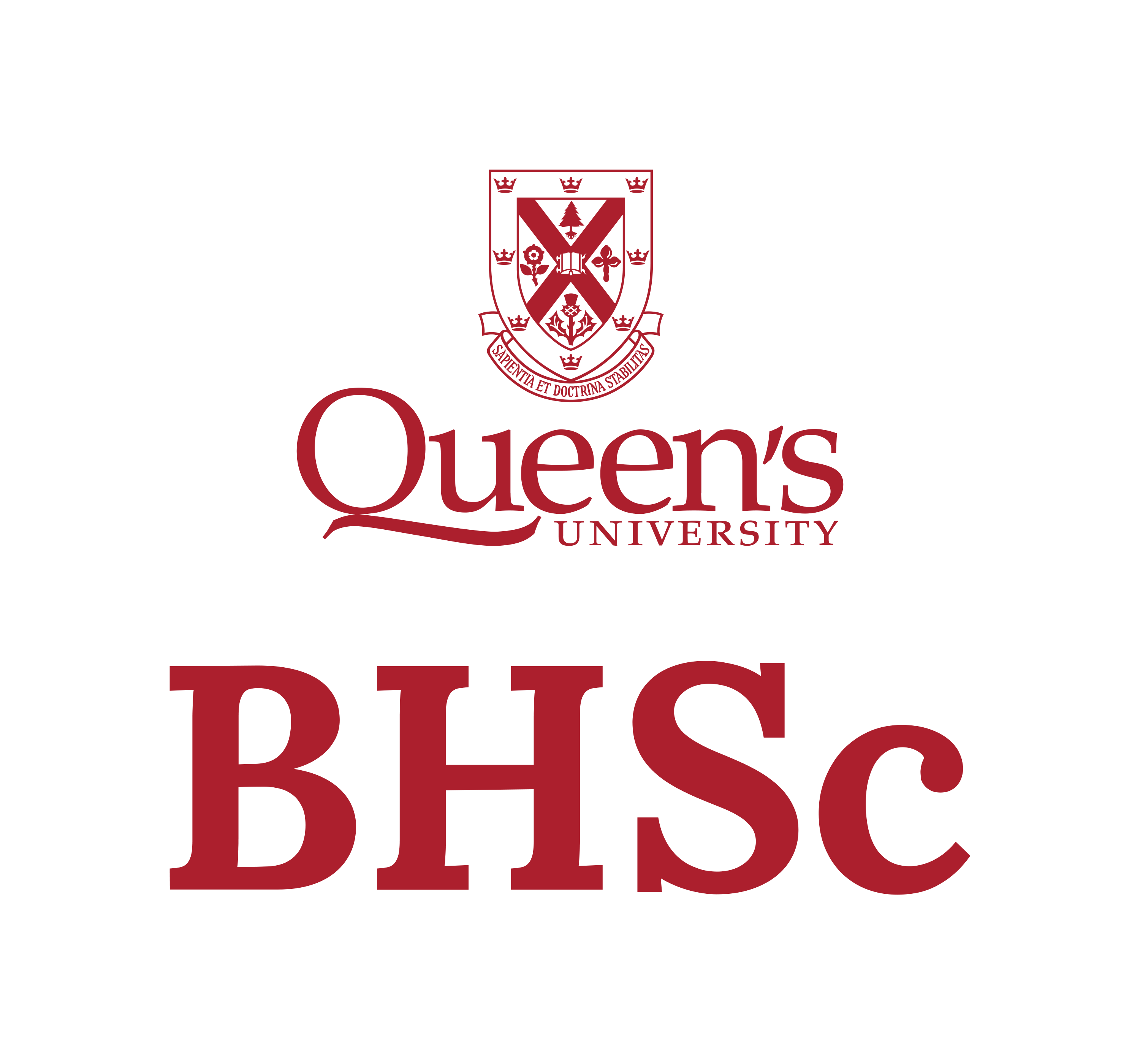Bhsc queens brand red